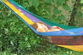 a bit of nap in the hammock